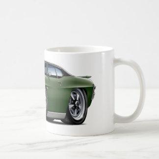 1970 GTO Dark Green-Black Top Coffee Mug