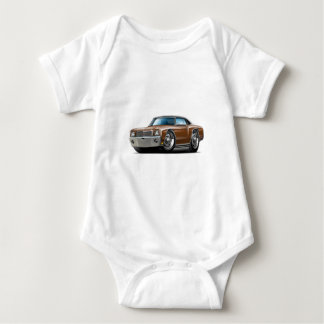 1970 Monte Carlo Brown-Black Top Car