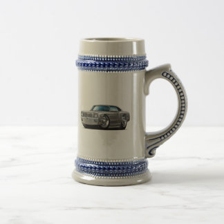 1970 Monte Carlo Grey-Black Top Car Beer Stein