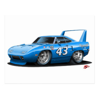 1970 Nascar Superbird Petty Postcard