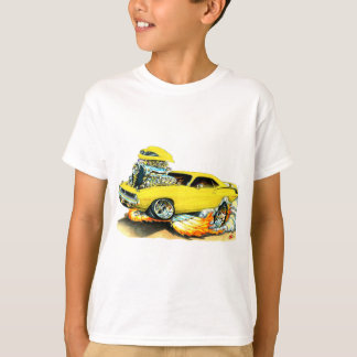 1970 Plymouth Cuda Yellow Car T-Shirt