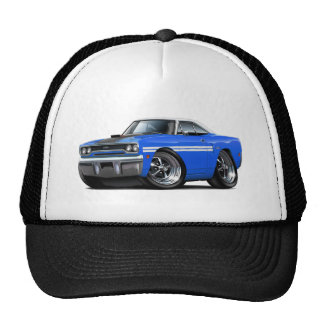 1970 Plymouth GTX Blue-White Top Car Cap