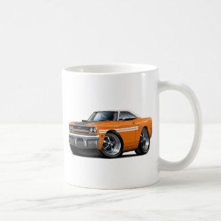 1970 Plymouth GTX Orange-White Top Car Coffee Mug