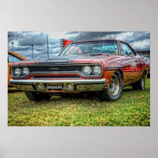 1970 Plymouth GTX Poster