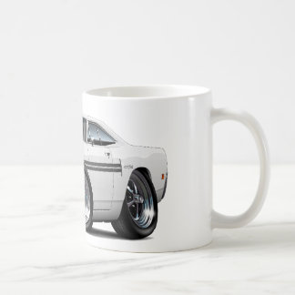 1970 Plymouth GTX White-Black Car Coffee Mug