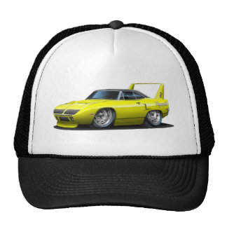 1970 Plymouth Superbird Yellow Car Cap
