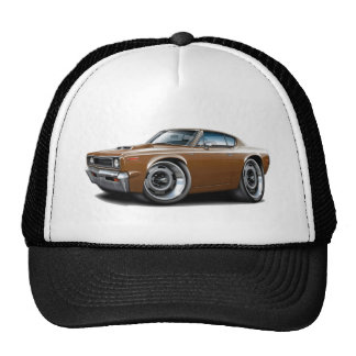 1970 Rebel Machine Brown-Hood Scoop Cap