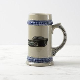 1970 Roadrunner Black-White Beer Stein