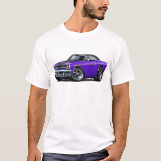 1970 Roadrunner Purple-Black Stripe T-Shirt