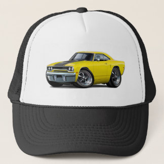 1970 Roadrunner Yellow-Black Trucker Hat