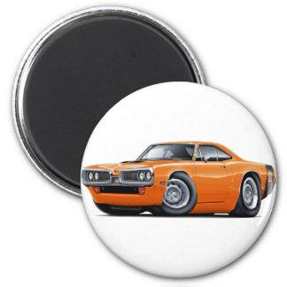 1970 Super Bee Orange-Black Car Magnet