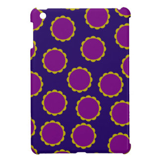 1970s Flower Power Retro Hippy Print iPad Mini Covers