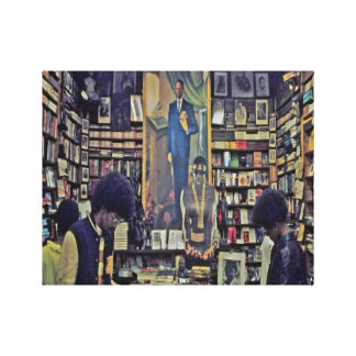 1970's Harlem Bookstore Canvas Canvas Print