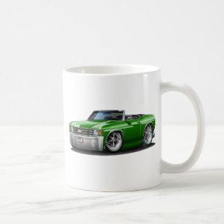 1971-72 Chevelle Green Convertible Coffee Mug