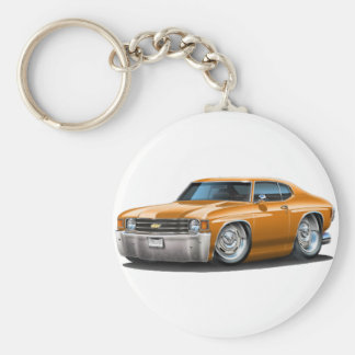 1971-72 Chevelle Orange Car Key Ring