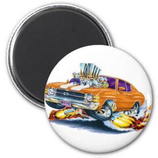 1971-72 Chevelle Orange-White Car Magnet