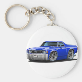 1971-72 El Camino Blue Truck Key Ring