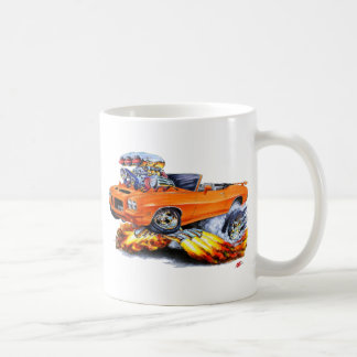 1971-72 GTO Orange Convertible Coffee Mug