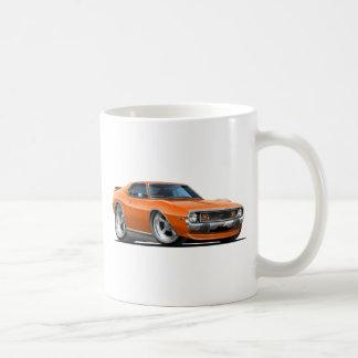 1971-72 Javelin Orange Car Coffee Mugs