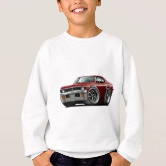 1971-72 Nova Maroon Car Sweatshirt