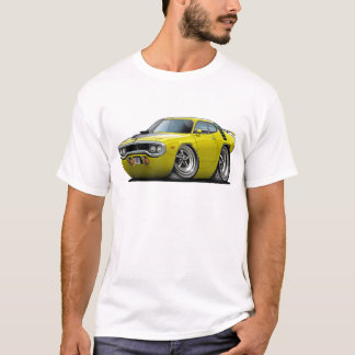 1971-72 Roadrunner Yellow-Black Car T-Shirt