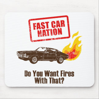 1971 Chevrolet Camaro Mouse Pad