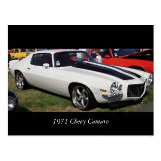 1971 Chevy Camaro Postcard