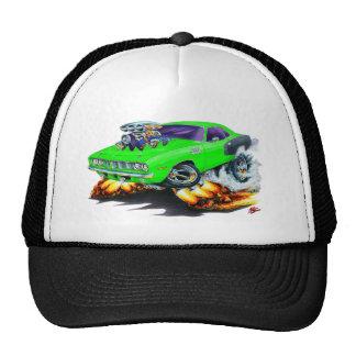 1971 Hemi Cuda Lime Car Cap