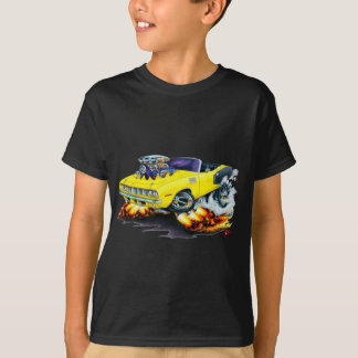 1971 Hemi Cuda Yellow Convertible T-Shirt