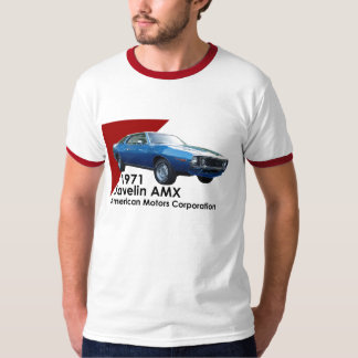 1971 Javelin AMX by AMC Tshirts