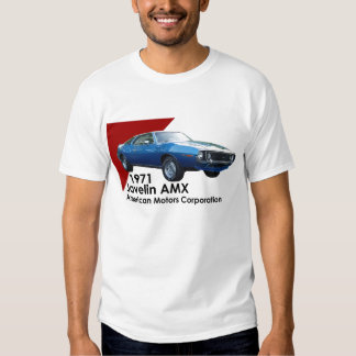 1971 Javelin AMX muscle car by AMC Tshirt
