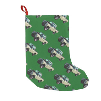 1971 Land Rover Pickup Truck Small Christmas Stocking