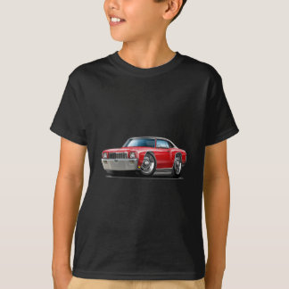 1971 Monte Carlo Red-Black Top Car