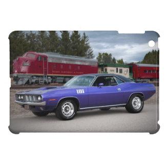 1971 Plymouth Barracuda Cuda Mopar Muscle Car iPad Mini Cover