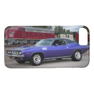 1971 Plymouth Barracuda Cuda Mopar Muscle Car iPhone 8/7 Case
