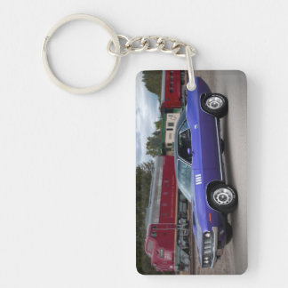 1971 Plymouth Barracuda Cuda Mopar Muscle Car Key Ring