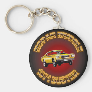 1971 Plymouth Duster Keychain. Key Ring