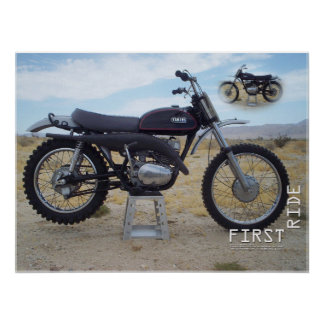 1971 Yamaha RT1 360MX Poster