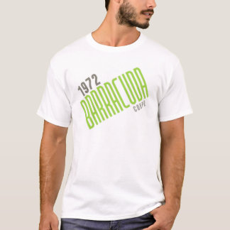 1972 Barracuda Coupe - Limelight Poly T-Shirt