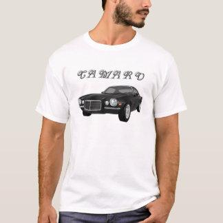 1972 Camaro Z28: Muscle Car: Black Finish: T-Shirt