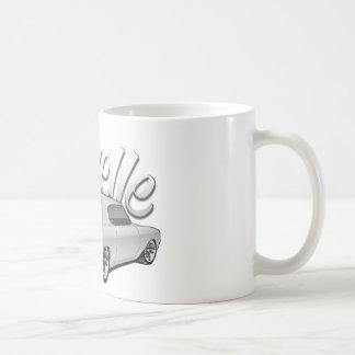 1972 Chevelle Custom Illustration Coffee Mug