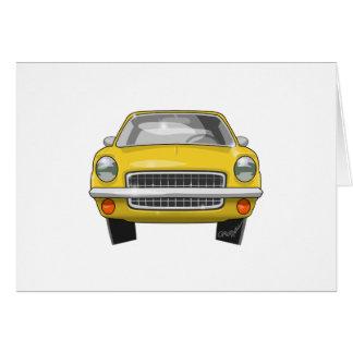 1972 Chevrolet Vega Card