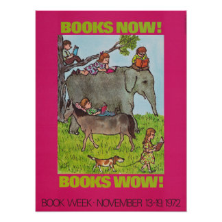 1972 Children's Book Week Poster