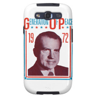 1972 Nixon Presidential Campaign Galaxy SIII Covers