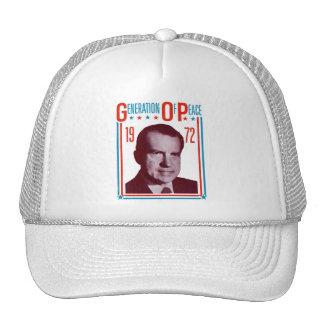 1972 Nixon Presidential Campaign Trucker Hats