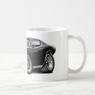 1973-74 Charger Black Car Coffee Mug