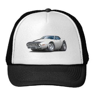 1973-74 Javelin White-Black Car Mesh Hat