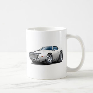 1973-74 Javelin White-Black Car Mugs