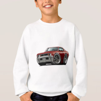 1973-74 Nova Maroon Car Sweatshirt