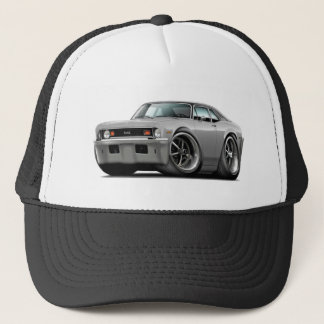 1973-74 Nova Silver-Black Top Trucker Hat